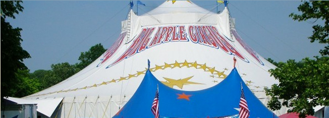 Big Apple Circus tent