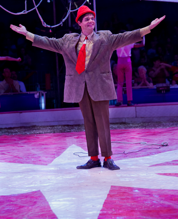 Rob Torres, Big Apple Circus clown