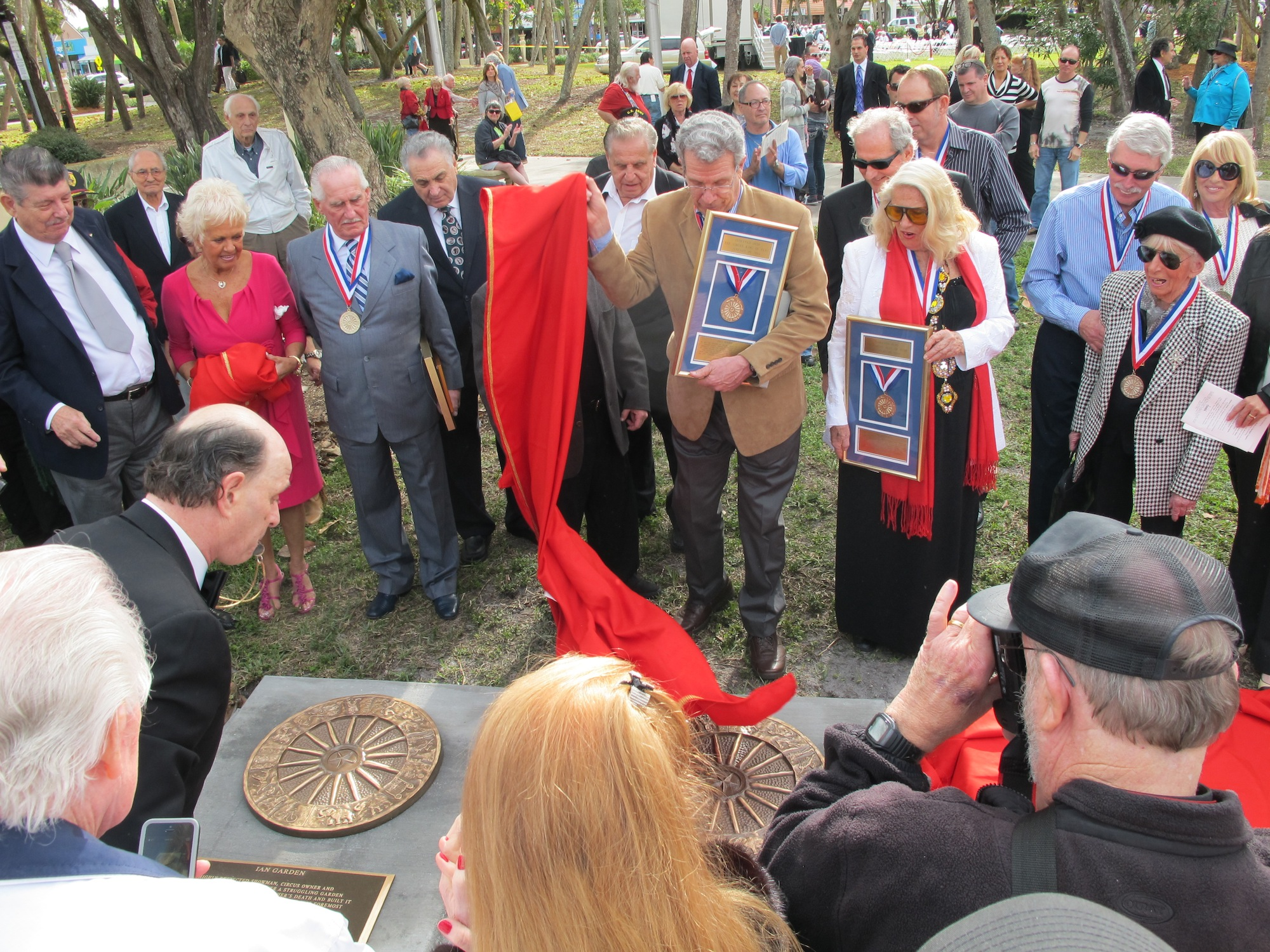 Unveiling the Plaques