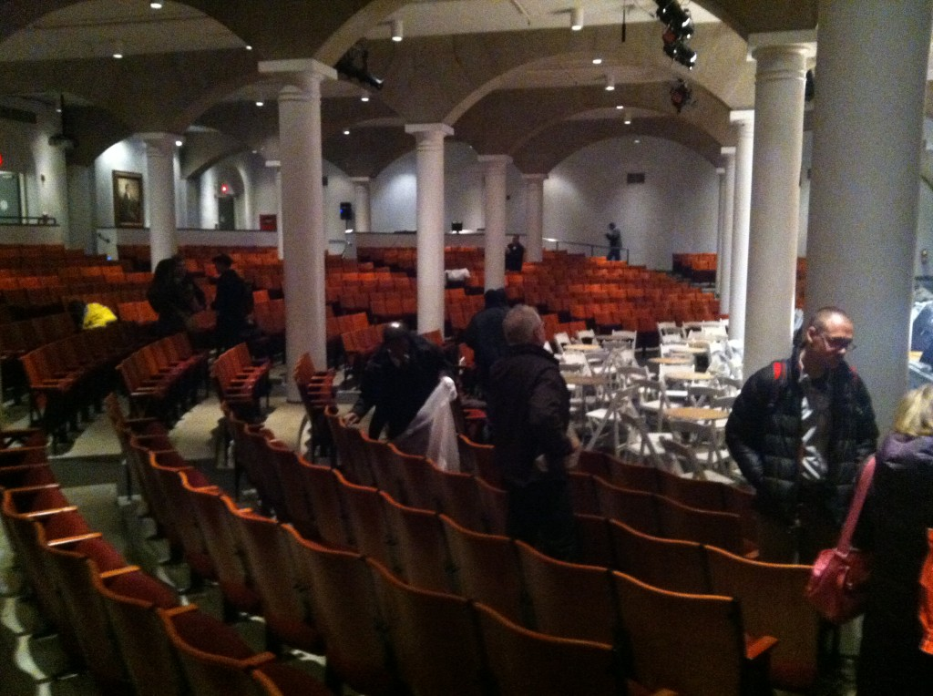 The Great Hall at Cooper Union after The Moth