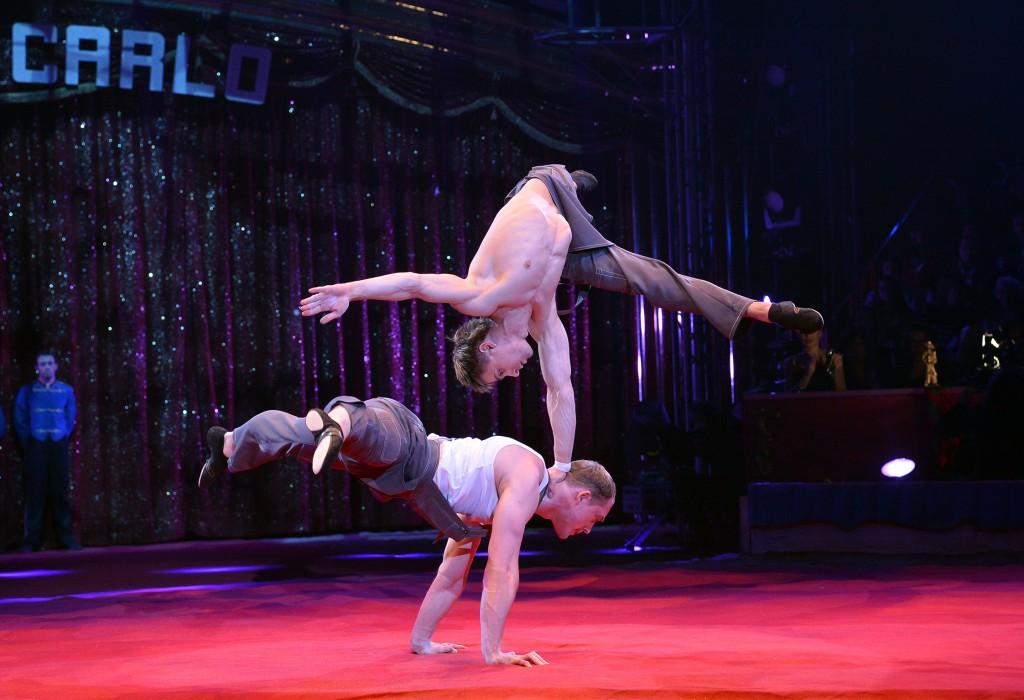 Duo Shcherbak & Popov performing at the Monte Carlo Festival, photo courtesy of Spectacle Magazine