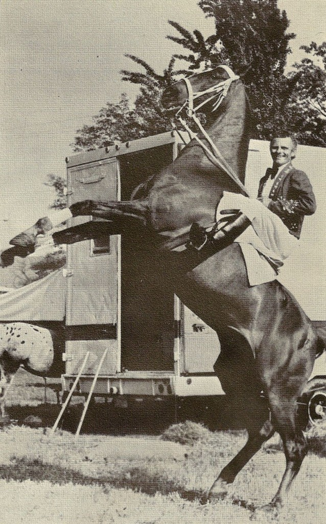 John Herriott at the Hoxie Bros. Circus, 1975, photo courtesy of http://www.thecircusblog.com/