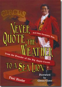 Never Quote the Weather Book Cover